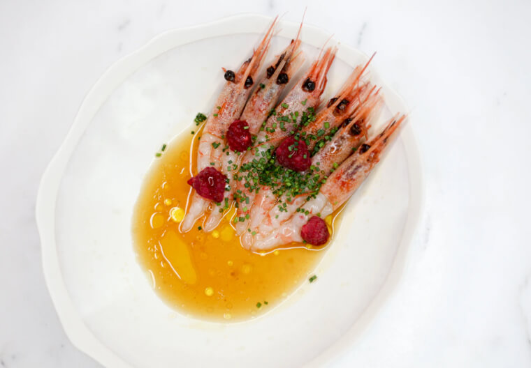 Asian chilli garlic shrimps